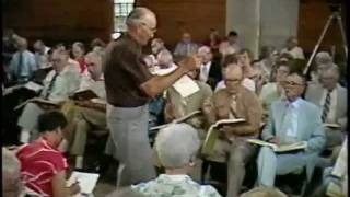 1982 Holly Springs Sacred Harp Convention: Present Joys (#318)