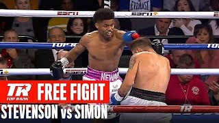 FREE FIGHT | Shakur Stevenson vs Viorel Simion