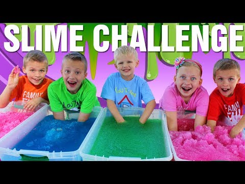 Thumbnail: Gelli Baff Slime Challenge Toys & Sour Candy - Family Fun Pack