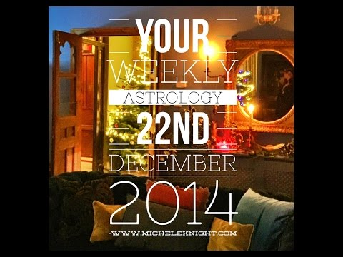 Capricorn Weekly Astrology Forecast 22nd December 2014 Michele Knight