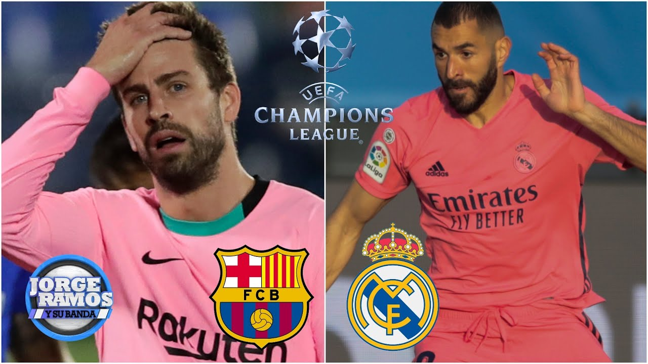 Barcelona y Real Madrid debutan en Champions League, después de un VERGONZOSO fin en La Liga | JRYSB