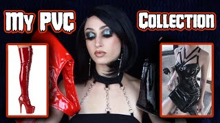 MY PVC CLOTHING COLLECTION & TRY ON (SHEIN, ALIEXPRESS) 👠 ⛓