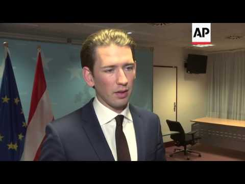 Austrian FM: freeze EU talks with Turkey