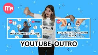 Cover images Cool Video Outros for Your YouTube Channel 😎| MAKING AND SHARING THEM  🎁💖 0+