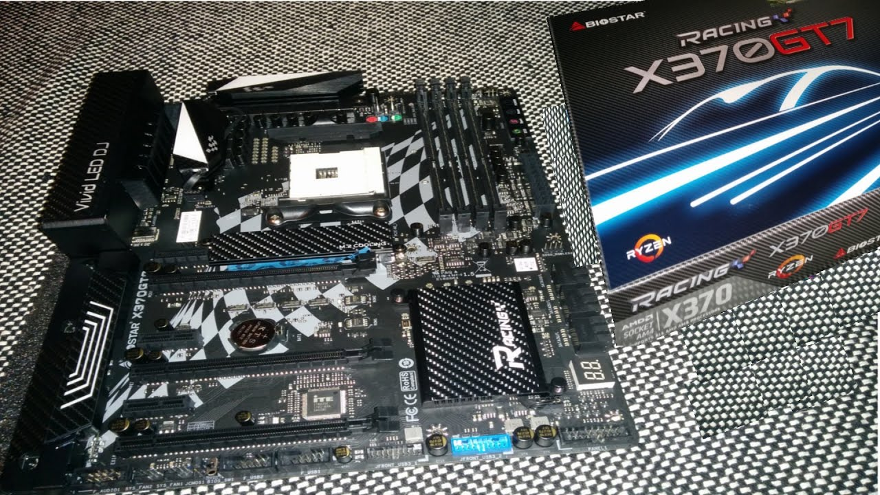 BIOSTAR RACING X370 GT7 - REVIEW BY TOM'S HARDWARE [READ DESCRIPTION]