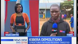 Structures on road reserve in Kibera set to be demolished