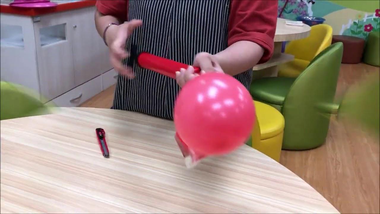 【創意科學遊戲設計】空氣–氣噗噗的船 - YouTube