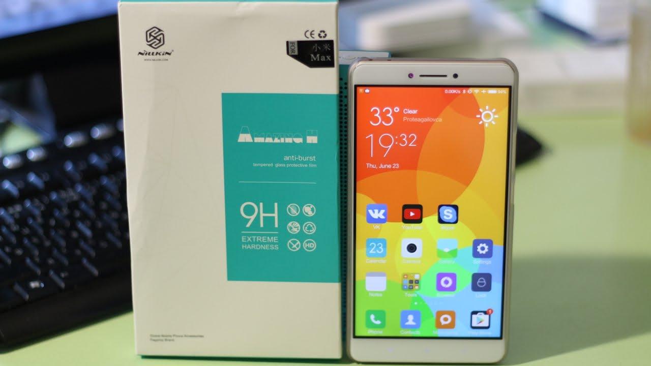 ОРИГИНАЛЬНОЕ СТЕКЛО Nillkin для Xiaomi Mi Max ▻ Посылка из Китая .