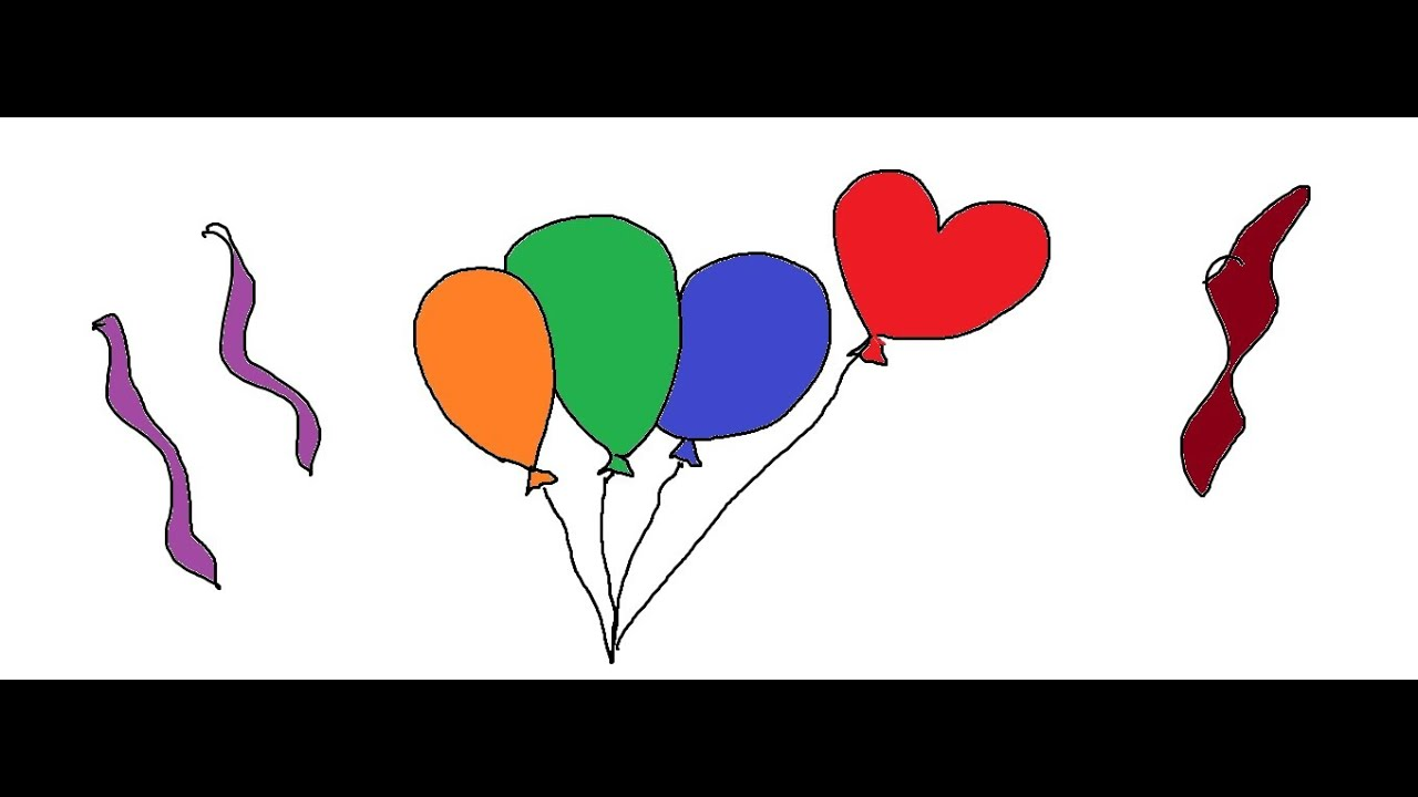 balloon drawing for kids - photo #39
