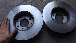 Geely ck замена тормозных колодок с проточкой тормозного диска.