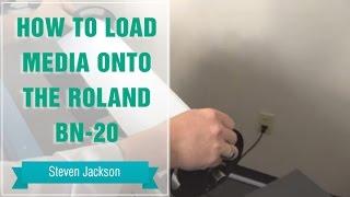 Як завантажити файли на Ролан БН-20