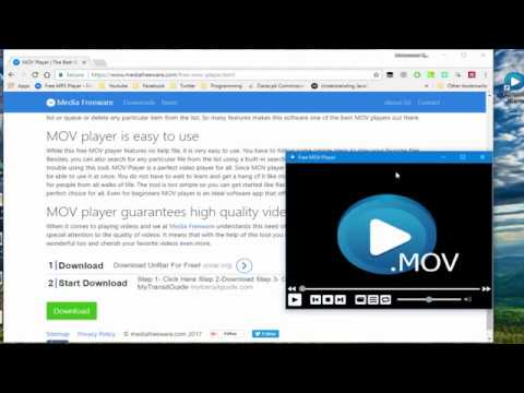 MOV Player | How To Play MOV Files? Media Freeware