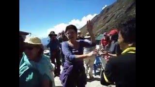 Having fun in Trekking via Friendship world Treks, Gokyo Lake Trek