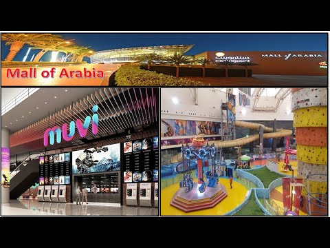 TOP BEST PLACES TO VISIT IN JEDDAH | Mall of Arabia | Kids airport