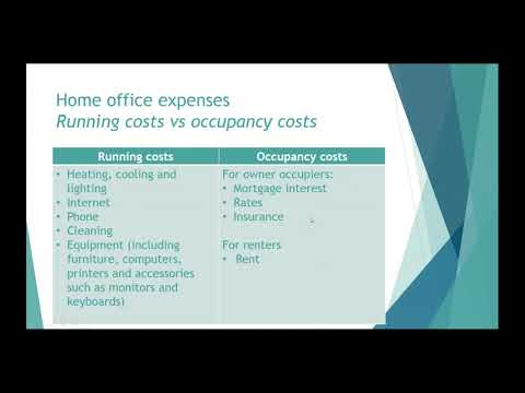 Tax Deductions For Home Office (Australia)