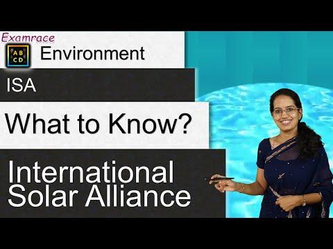 International Solar Alliance: Recent Developments (Based on New Syllabus NTA NET Paper 1) Mp3