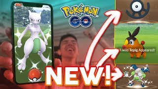SHINY MEWTWO FINALLY COMING TO POKMON GO  GEN 5 RELEASE UNOWN EGGS amp SHINY REGIONALS