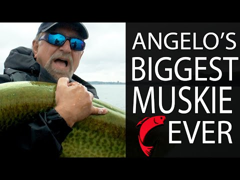 Angelo's Biggest Muskie Ever | Fish'n Canada Extra