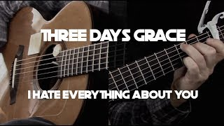 Kelly Valleau - I Hate Everything About You (Three Days Grace) - Fingerstyle Guitar