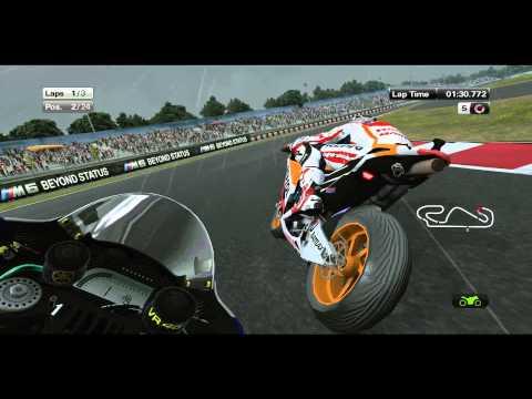 MotoGP 2013 (Game) Demo Gameplay (Rain) + DL [PC/HD]