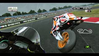 MotoGP 2013 (Game) Demo Gameplay (Rain) + DL [PC/HD]