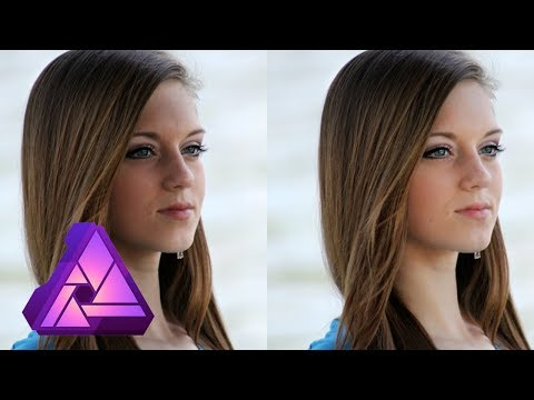 Remove Shadows from Faces  Affinity Photo Tutorial