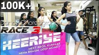 Heeriye Song Race 3 Dance Choreography | Salman Khan Jacqueline | Meet Bros Neha Bhasin Alok Kacher