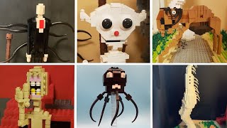 All LEGO TREVOR HENDERSON creatures | Trevor Henderson's Creepy World 3