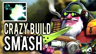 Most Speed Attack Hero in the WORLD! Crazy Build by SmAsH Imba Sniper 7.02 Dota 2