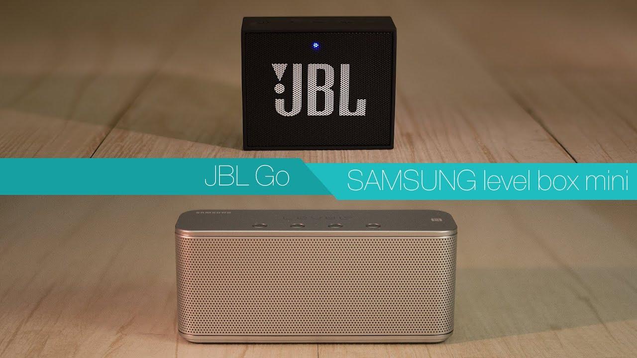 jbl go vs samsung level box mini review youtube. Black Bedroom Furniture Sets. Home Design Ideas