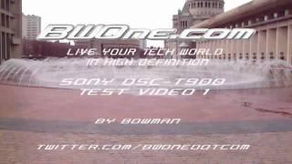 Sony Dsc-t900  Test Video Clip - Bwone.com