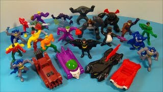 2011 BATMAN THE BRAVE AND THE BOLD McDONALD'S HAPPY MEAL TOY | Boy Toys | FastFoodToyReviews