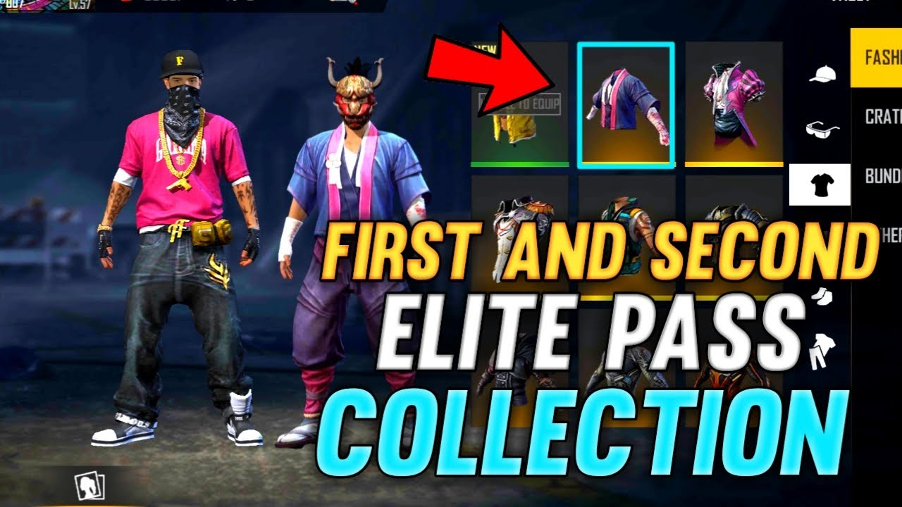 First Elite pass Oldest Collection My 2nd ID | Mit Hasan