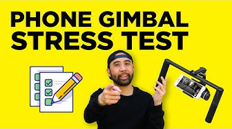 Feiyu Tech SPG Plus Smartphone Gimbal Test Video