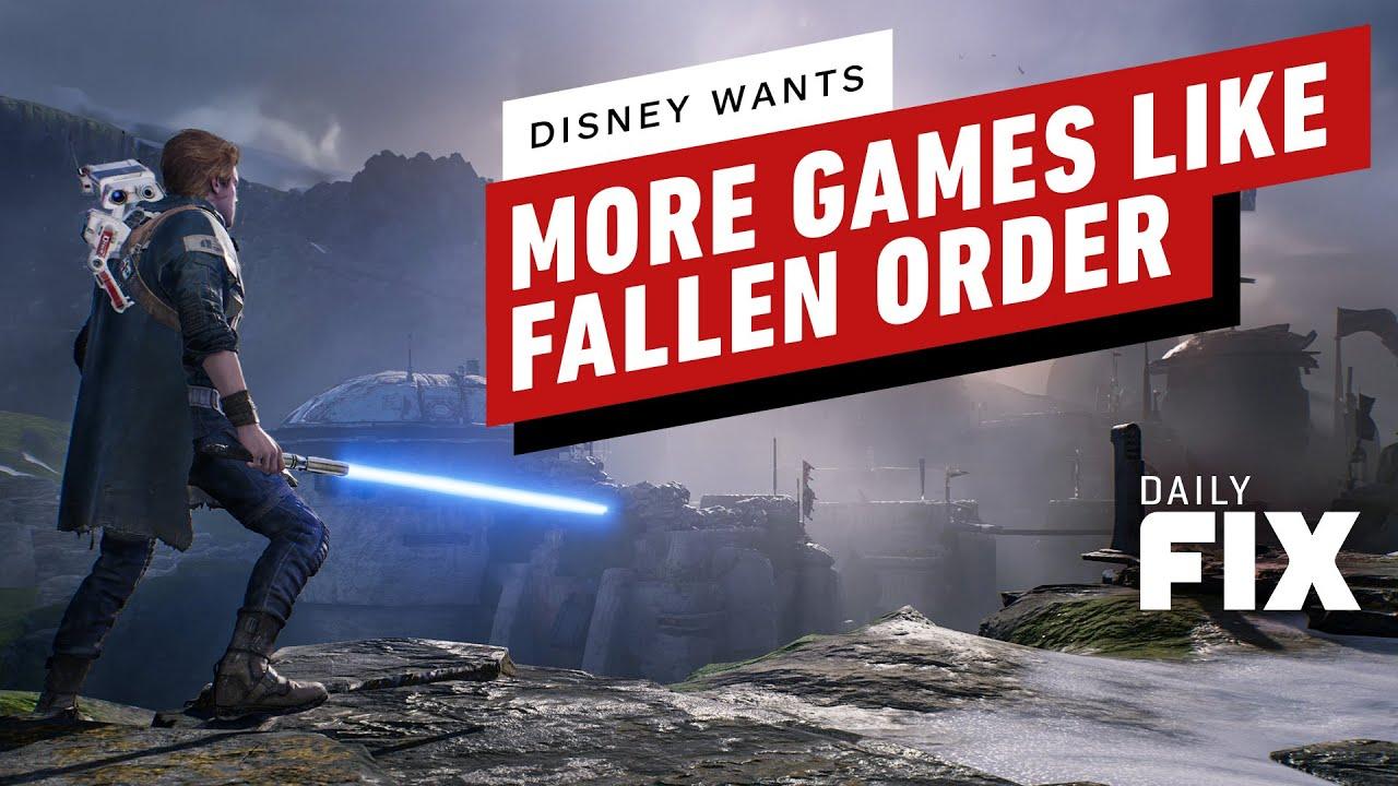 Disney veut plus de jeux comme Jedi: Fallen Order - IGN Daily Fix + vidéo