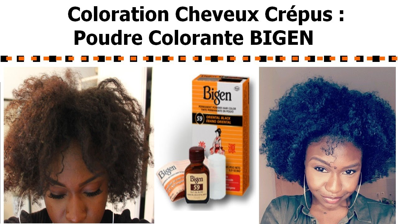 Coloration semi permanente cheveux crepus