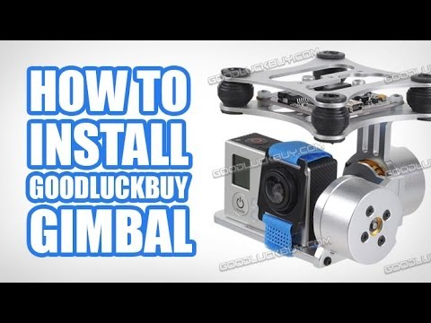 Dji phantom goodluckbuy gimbal setup installation tutorial for 3dr solo motor upgrade