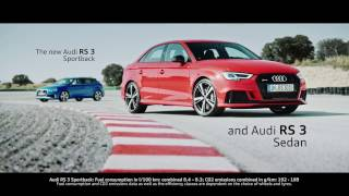 The new Audi RS 3 Sportback & RS 3 Saloon