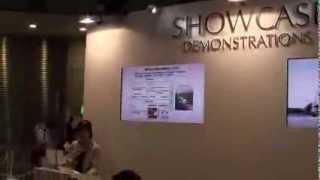 ITS世界会議東京2013-高速道路での縦列自動運転トラック隊(3台)の...