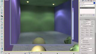 3ds max  basics for students indoor lighting lecture 12 In Urdu/Hindi