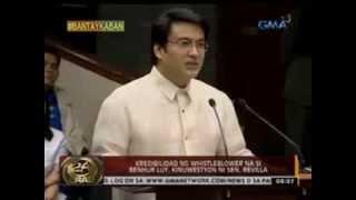 24 Oras: Sen. Bong Revilla, sinabing mismong si PNoy ang humingi ng pabor sa kanya