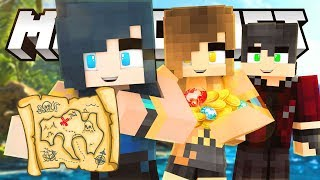 WE'RE IN THE SKY FINDING TREASURE! | Minecraft Adventures