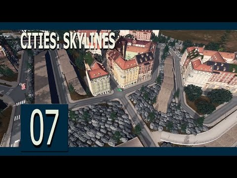 Cities: Skylines Ep7 - The Mountain City (Industreet)