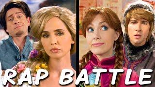rapunzel vs anna princess rap battle eliza dushku james maslow tom lenk whitney avalon explicit