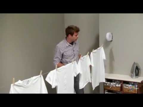 Indoor/Outdoor Retractable Clothesline   Product Review Video   YouTube