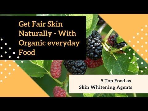 5 Secret Fairness Food Agents For A Whiter Skin