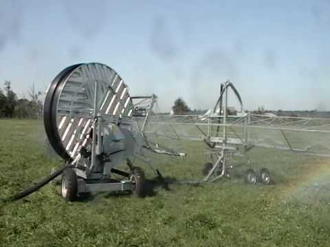 Irriland Irrigation Boom Returning To Irrigator Youtube