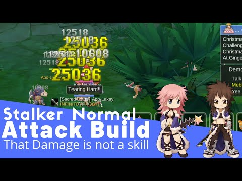 Stalker Normal Attack Build, Cheap Equipment, Huge Damage, Ragnarok Mobile Eternal Love