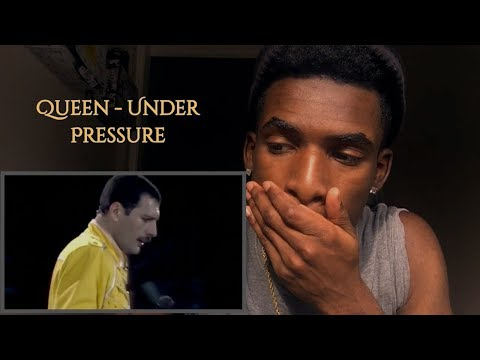 FIRST TIME WATCHING | Queen - Under Pressure (Live At Wembley) | REACTION