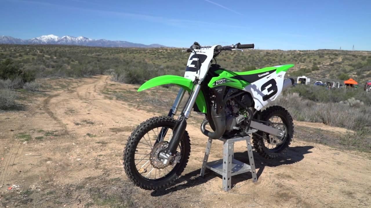 2016 kawasaki kx85 dirt rider 85cc mx shootout youtube. Black Bedroom Furniture Sets. Home Design Ideas